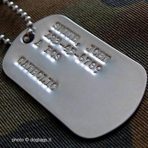 WW2 dog tags